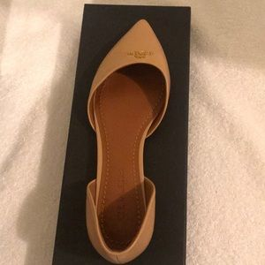 Coach flats, brand new never wore